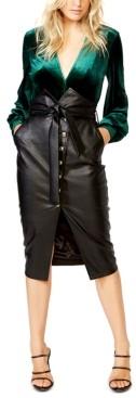 Bardot Bryony Plunging V-Neck Bodysuit