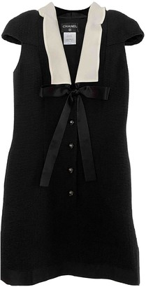 Chanel Black Cotton Dresses