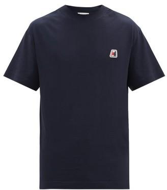 Moncler Logo-plaque Cotton-jersey T-shirt - Navy