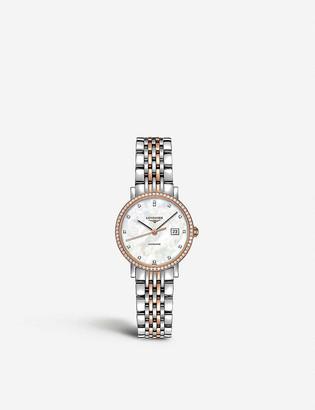 Longines L4.310.5.88.7 Elegant rose gold and diamond watch