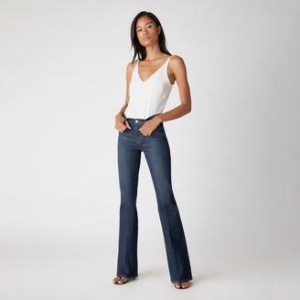 J Brand Valentina High-Rise Flare