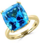 Effy 14K Yellow Gold Blue Topaz Ring