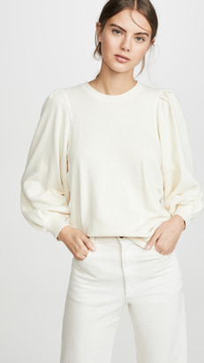 The Great The Pleat Sleeve Sweatshirt