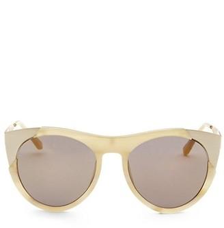 Smoke X Mirrors Zoubisou, 53MM, Cat Eye Sunglasses