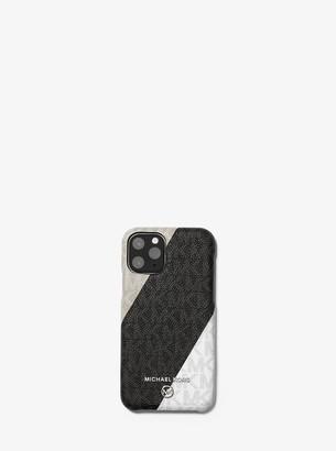 MICHAEL Michael Kors Color-Block Logo Phone Cover for iPhone 11 Pro