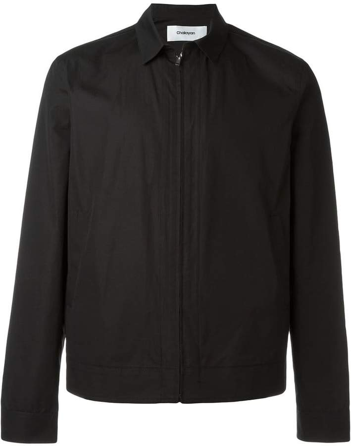 Chalayan zipped shirt jacket