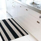 Chilewich Bold Stripe Shag Big Mat, 5' x 3'