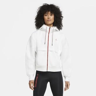 Nike Women's Fleece Hoodie Jordan Winter Utility