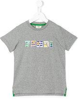Fendi logo print T-shirt - kids - Cotton - 6 yrs