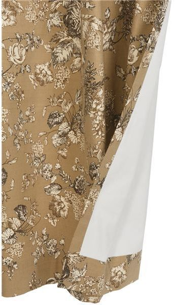 """Weather Mate Thermalogic Weathermate Hanover Floral Curtains - 80x72"""", Grommet-Top, Insulated"""