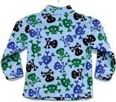 Hanna Andersson Baby Boy Soft Fleece 1/4 Zip Shirt Skull Jacket (, Skull)