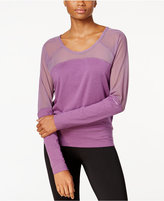 Soybu Suzette Mesh-Trim Top