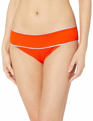 OndadeMar Women's Nectarine Medium Coverage Bikini Bottom
