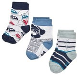 Melton 3-pk Baby Boy Socks