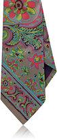 Ralph Lauren Purple Label Men's Floral Silk Foulard Necktie