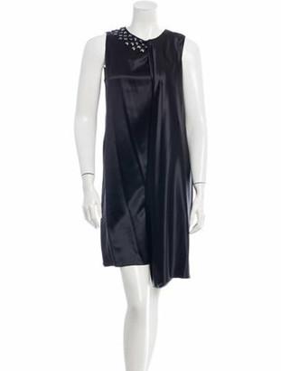 Thomas Wylde Silk Dress w/ Tags Black