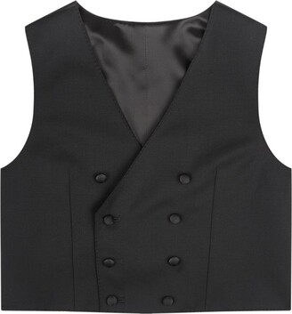 Dolce & Gabbana Kids Double-Breasted Waistcoat (2-6 Years)