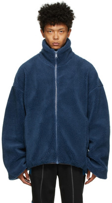 A. A. Spectrum Blue Polar Jacket
