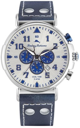 Tommy Bahama Men's Bay View Chronograph Blue Strap Watch