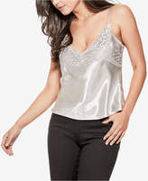 GUESS Heirloom Lace-Trim Satin Camisole