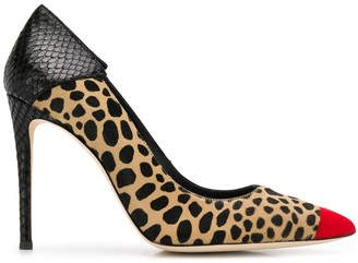 Giuseppe Zanotti leopard print pumps