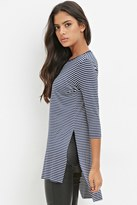 Forever 21 High-Slit Striped Tunic
