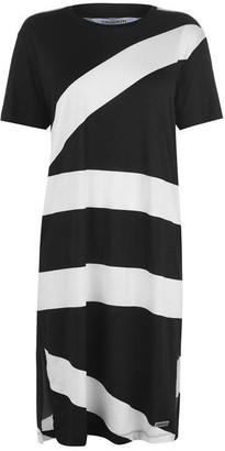 Calvin Klein Abstract T-Shirt Dress