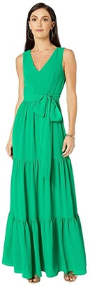 Lilly Pulitzer Maurine Maxi Dress (Emerald Isle) Women's Dress