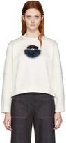 Fendi Ivory 'Fendi Wonders' Pullover
