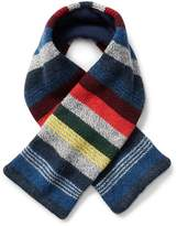 Gap Crazy stripe fleece scarf