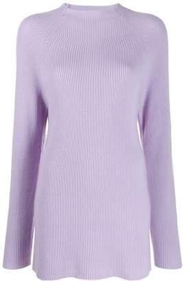 Joseph long-line knit jumper
