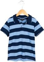 Oscar de la Renta Boys' Striped Polo Shirt