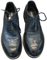 Non Signã© / Unsigned Non SignA / Unsigned Blue Leather Boots