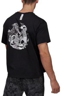 adidas Captain Tsubasa Graphic Soccer T-Shirt