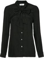 Frame tied neck shirt - women - Silk - L