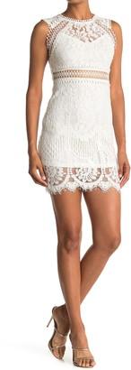FAVLUX Lace Pencil Dress