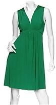 Twist Jersey Halter Dress