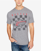 Lucky Brand Men's NASCAR Checker Burst Graphic-Print Cotton T-Shirt