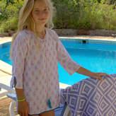 Little Ella James Pink Beach Kaftan