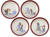 Nordic Elf Plates, Set of 4