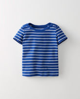 Hanna Andersson Stripey Boatneck Tee In Organic Cotton