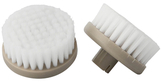 Set of 2 Replacement Face Exfoliating Brush Heads for Perfect Skin