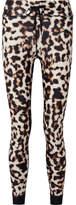 The Upside Leopard-print Stretch Leggings