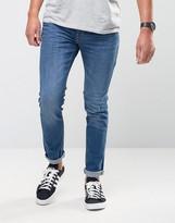 Firetrap Skinny Jeans in Mid Wash Deim