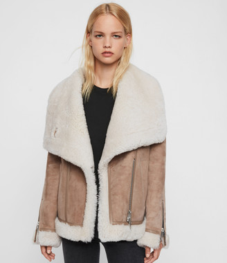 AllSaints Harlow Shearling Jacket