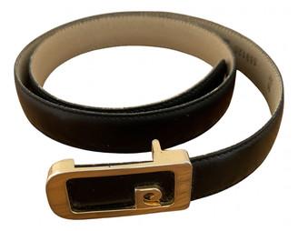 Pierre Cardin Black Leather Belts
