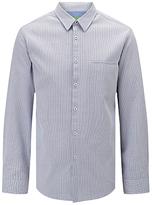 Hugo Boss Boss Green C-bacchis Pin Check Shirt, Open Blue