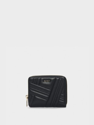 DKNY Allen Small Leather Zip-around Wallet