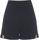 Thierry Mugler High-waisted cady shorts