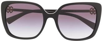 Bvlgari Square Frame Sunglasses